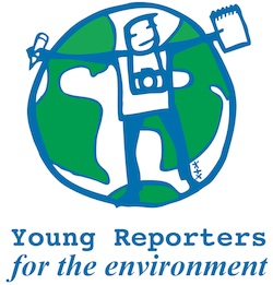 Young Reporters for the environment logo